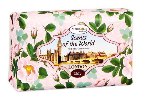 Marigold natural Мило Аромати світу Лондон 150 г 1 шт