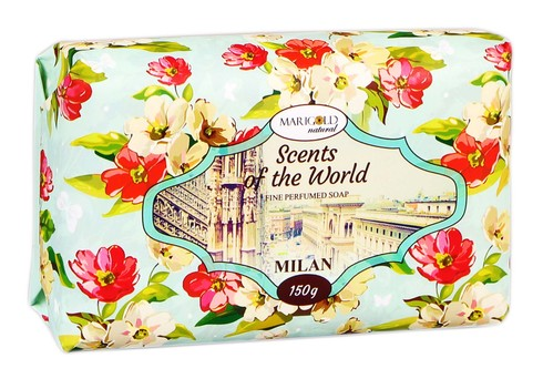 Marigold natural Мило Аромати світу Мілан 150 г 1 шт