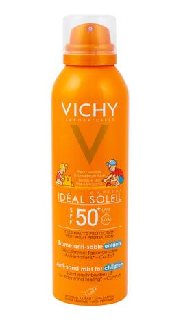Vichy Ideal Soleil Сонцезахисний спрей для дітей з технологією Анти-Пісок SPF-50+ 200 мл 1 флакон