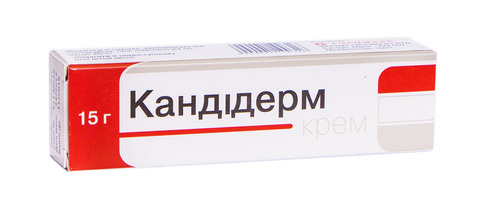 Кандідерм крем 15 г 1 туба