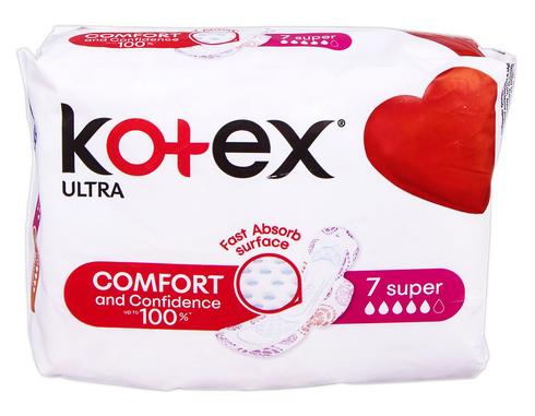 Kotex Ultra Super Прокладки гігієнічні 7 шт