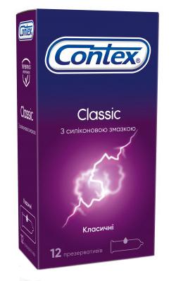 Contex Презервативи Classic 12 шт