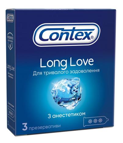Contex Презервативи Long Love 3 шт