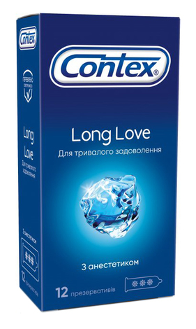 Contex Презервативи Long Love 12 шт
