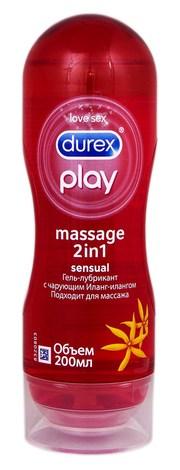 Durex Play Massage 2 in 1 Sensual Інтимна гель-змазка 200 мл 1 флакон