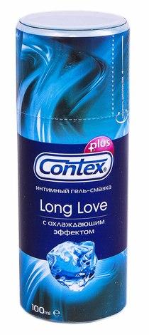 Contex Long Love Інтимний гель-змазка з охолоджуючим ефектом 100 мл 1 флакон