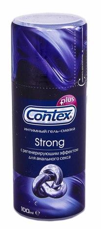 Contex Strong Інтимний гель-змазка з ефектом регенерації 100 мл 1 флакон