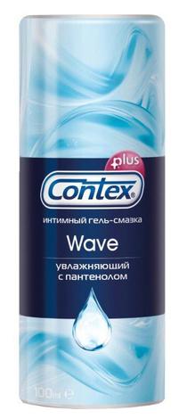 Contex Wave Інтимний гель-змазка зволожуюча з пантенолом 100 мл 1 флакон