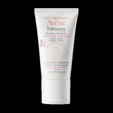 Avene Tolerance Extreme Емульсія легка текстура зволожує та заспокоює для чутливої та гіперчутливої шкіри 50 мл 1 туба