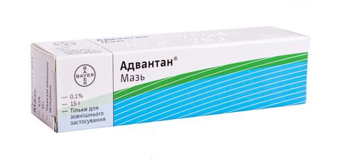Адвантан мазь 0,1 % 15 г 1 туба