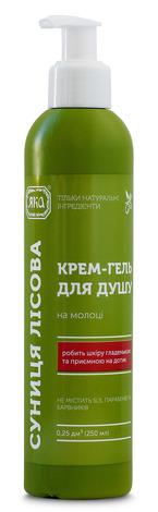 Яка Крем-гель для душу Суниця лісова  250 мл 1 флакон