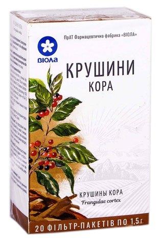 Віола Крушини кора 20 фільтр-пакетів