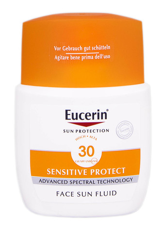 Eucerin Sun Protection Флюїд сонцезахисний для нормальної шкіри обличчя SPF-30 50 мл 1 флакон