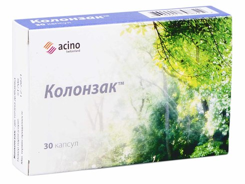 Колонзак капсули 250 мг 30 шт