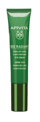 Apivita Bee Radiant Крем для шкіри навколо очей від ознак старіння та слідів втоми 15 мл 1 туба