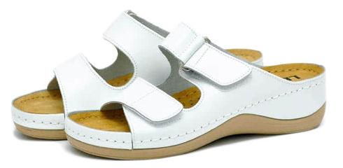 Leon 905 Медичне взуття жіноче білого кольору 41 розмір 1 пара