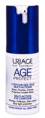 Uriage Age Protect Догляд для контуру очей мультизадачний 15 мл 1 флакон