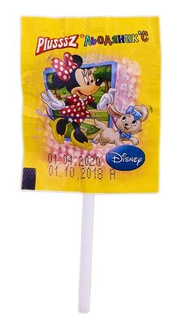 Льодяник'С Plusssz Disney з вітамінами та фруктовим соком льодяники 8 г 100 шт
