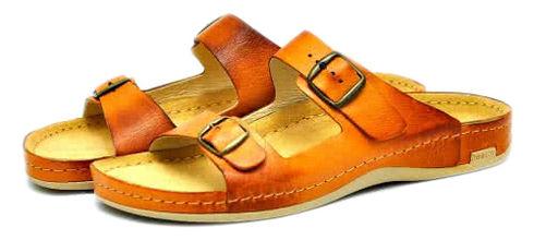 Leon 703 Медичне взуття чоловіче коричневого кольору 42 розмір 1 пара