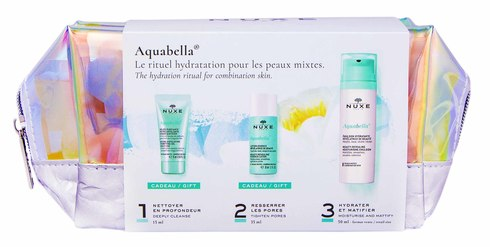 Nuxe Aquabella емульсія 50 мл + очищуючий гель 15 мл + лосьйон 35 мл 1 набір