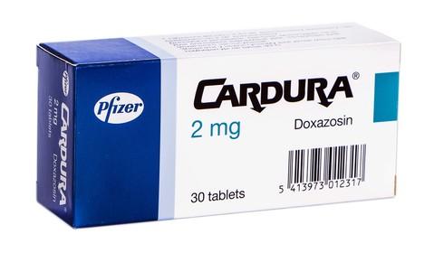 Кардура таблетки 2 мг 30 шт