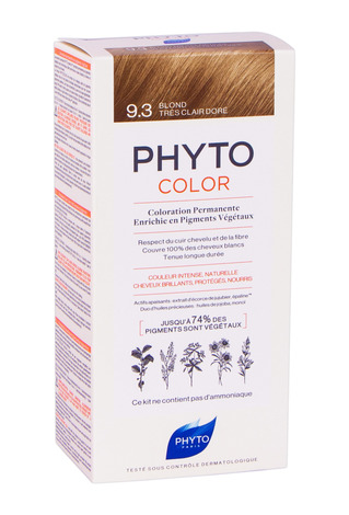 Phyto Color Крем-фарба тон №9.3 золотистий блондин 1 комплект