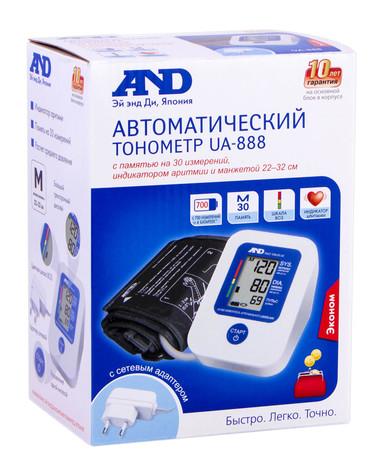 AND UA-888EAC Тонометр автоматичний 1 шт
