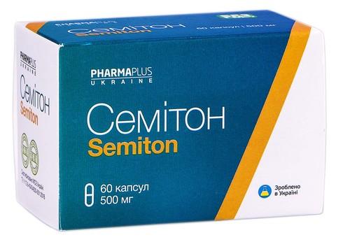 Семітон капсули 500 мг 60 шт