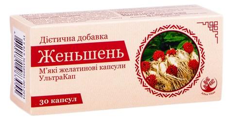 Arbor Vitae Женьшень капсули 30 шт
