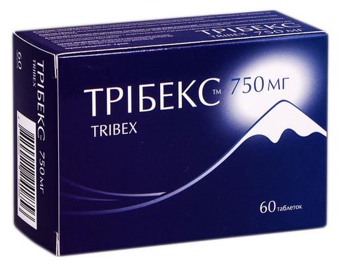 Трібекс таблетки 750 мг 60 шт