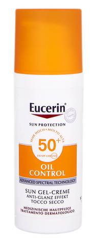 Eucerin Sun Protection Гель-крем сонцезахисний для обличчя з матуючим ефектом SPF-50+ 50 мл 1 флакон