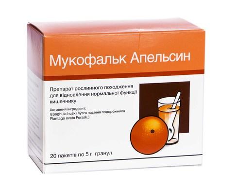 Мукофальк Апельсин гранули 5 г 20 шт