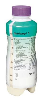 Нутрікомп Д нейтральний спеціалізоване харчування розчин оральний 500 мл