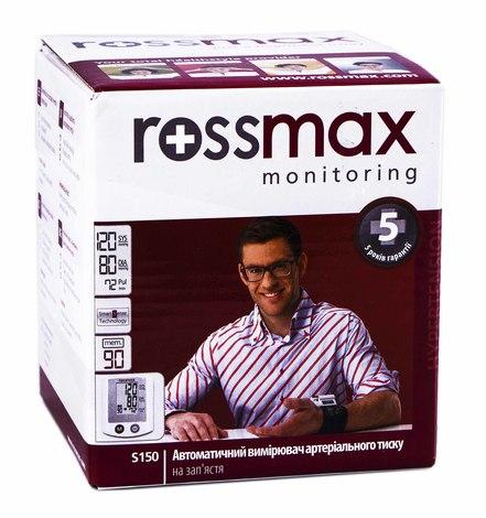 Rossmax S 150 Тонометр автоматичний на зап'ястя 1 шт