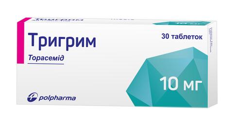 Тригрим таблетки 10 мг 30 шт