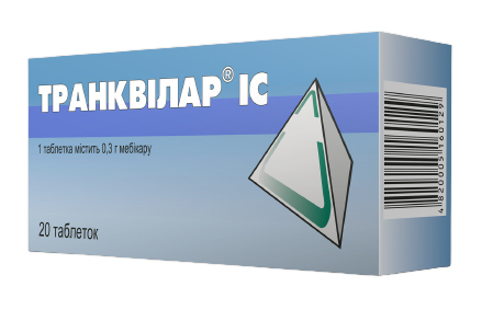 Транквілар IC таблетки 300 мг 20 шт