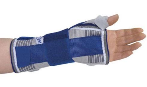 Алком 3018 Бандаж на променево-зап'ястковий суглоб з відведенням великого пальця руки розмір L лівий 1 шт