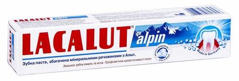 Lacalut Alpin Зубна паста 50 мл 1 туба