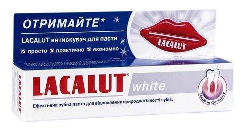 Lacalut White Зубна паста 75 мл 1 туба