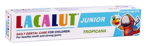 Lacalut Junior Зубна паста Тропікана від 8 років 75 мл 1 туба