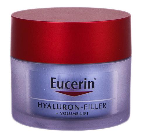 Eucerin Hyaluron-Filler + Вольюм-ліфт Крем нічний антивіковий для шкіри обличчя 50 мл 1 банка