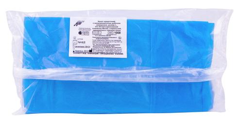 Релакс Халат одноразовий хірургічний стерильний з непромокальною поверхнею розмір L 1 шт