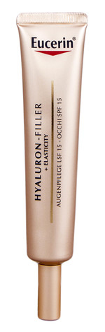 Eucerin Hyaluron-Filler + Elasticity Крем антивіковий для шкіри навколо очей SPF-15 15 мл 1 туба
