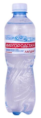 Миргородська Лагідна Вода негазована 0,5 л 1 пляшка