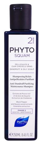 Phyto Squam Шампунь проти лупи для жирної шкіри голови 250 мл 1 флакон