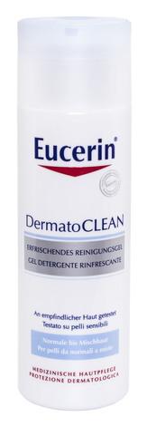 Eucerin DermatoClean Гель для вмивання нормальної та комбінованої шкіри 200 мл 1 флакон