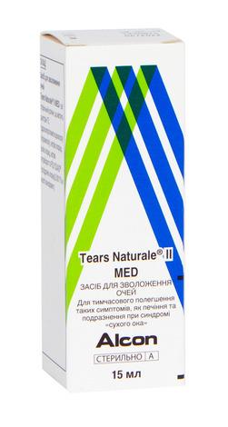 Засіб для зволоження Tears Naturale II MED краплі очні 15 мл 1 флакон