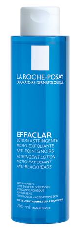 La Roche-Posay Effaclar Лосьйон для звуження пор з відлущуючим ефектом 200 мл 1 флакон