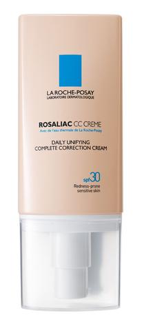 La Roche-Posay Rosaliac СС Крем комплексної дії для шкіри, схильної до почервонінь SPF 30 50 мл 1 флакон