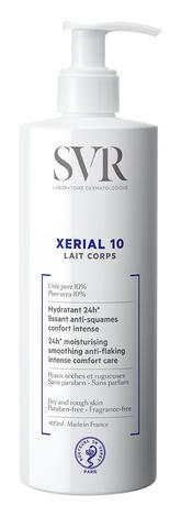 SVR Xerial 10 Молочко косметичне зволоження та комфорт 24 години для сухої шкіри 400 мл 1 флакон